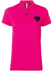 Rossignol Patch Detail Polo Shirt Pink