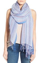 Women's Caslon 'Santa Fe' Pickstitch Scarf