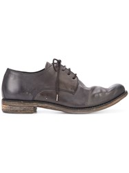 A Diciannoveventitre Distressed Lace Up Shoes Men Leather 42 Brown