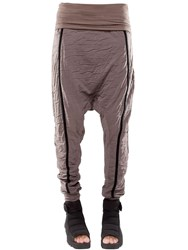 Demobaza Baggy Resin Cotton Jersey Pants