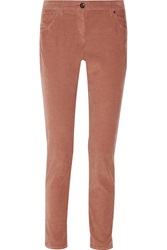 Brunello Cucinelli Corduroy Skinny Pants Brown
