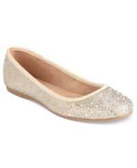 Style And Co. Angelynn Flats Women's Shoes Gold