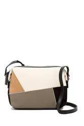 Nine West It's A Tie Faux Leather Suede Crossbody Multi