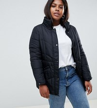Junarose Short Paddded Coat Black