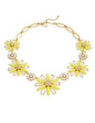 Kate Spade Daisy Dreams Statement Necklace Yellow