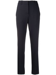 Emporio Armani High Waisted Slim Fit Trousers 60