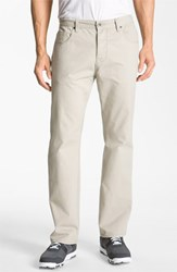Men's Big And Tall Cutter And Buck 'Pike' Five Pocket Pants Taupe