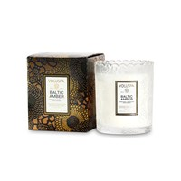 Voluspa Japonica Limited Edition Scalloped Candle Baltic Amber