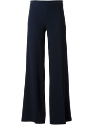 P.A.R.O.S.H. Flared Trousers Blue