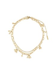 Ellery Multi Chain Necklace Gold