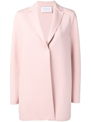 Harris Wharf London Single Breasted Coat Pink