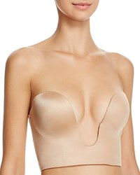 Fine Lines Plunge 4 Way Convertible Shortline Bra Rl029a Nude