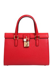 Dolce And Gabbana Lady Grained Leather Bag