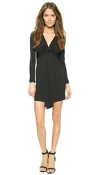 Rory Beca Tion Deep V Dress Onyx