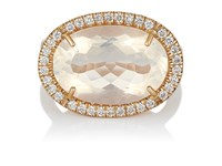 Irene Neuwirth Diamond And Water Opal Ring No Color
