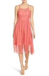 Cupcakes And Cashmere Women's Strady Lace Fit Flare Dress