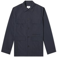 Norse Projects Kyle Pocket Overshirt Blue