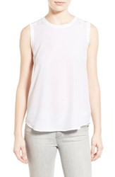 Ag Jeans Women's Ag 'Everest' Silk Sleeveless Top True White