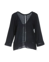 Axara Paris Blouses Dark Blue