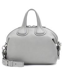 Givenchy Nightingale Small Leather Tote Grey