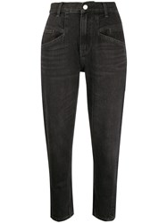 Current Elliott High Waisted Cropped Jeans 60