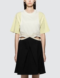 J.W.Anderson Jw Anderson Contrast Cut Out Dress