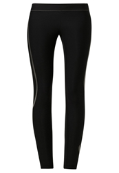Casall Sculpture Leggings Platinum Black