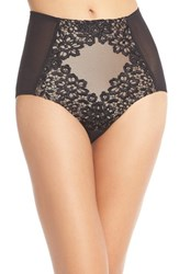 Women's Dita Von Teese 'Black Dahlia' High Waist Briefs