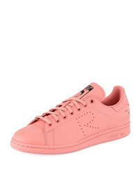 Raf Simons Stan Smith Leather Low Top Sneakers Pink