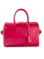 Saint Laurent Classic Duffle Bag Pink And Purple