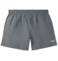 Hugo Boss Mid Length Swim Shorts Charcoal