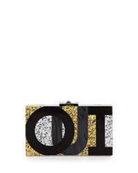 Alicia Small Lucite Clutch Bag Oui Non Rafe