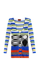 Missoni Stripe V Neck Cardigan