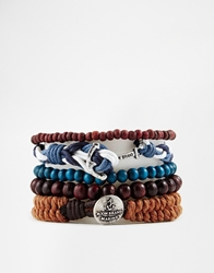 Icon Brand Nautical Bracelet Blue