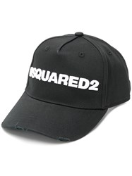 Dsquared2 Logo Cap Black
