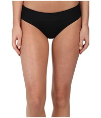 Carve Designs Catalina Bottom Black 1 Swimwear