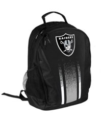 Forever Collectibles Oakland Raiders Prime Time Backpack Black