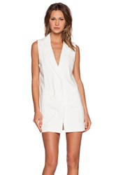 Toby Heart Ginger X Love Indie Camilla Vest Dress White
