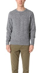 Levi's Made And Crafted Crew Neck Pullover Grey