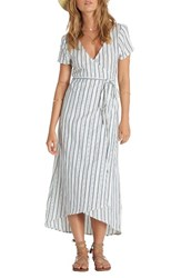 Billabong Women's Right Side Wrap Midi Dress