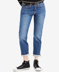 Levi's 501 Cotton Ripped Tapered Jeans Make Some Noise