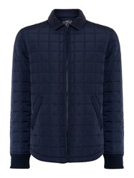 Criminal Clinton Quilted Jacket Navy