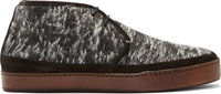 Paul Smith Black And White Ray Desert Boots