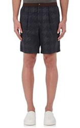 Kolor Men's Elastic Waist Shorts Blue