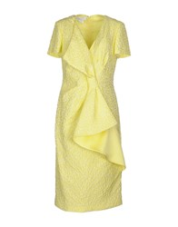 Cailan'd Dresses Knee Length Dresses Women Yellow