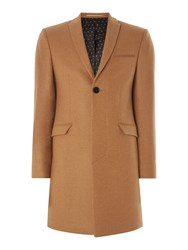 Label Lab Smith Epsom Skinny Overcoat Camel