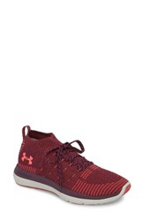 Under Armour Slingflex Rise Sneaker Merlot Rustic Red Brilliance