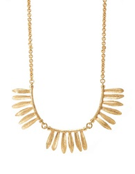 Gerard Yosca Full Bloom Necklace Gold