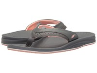 New Balance Renew Thong Grey Pink Women's Sandals Gray