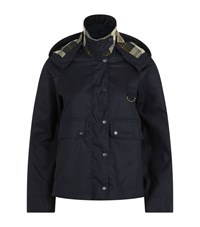 Barbour Summer Spey Wax Jacket Female Navy